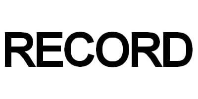 Pièces détachées Record