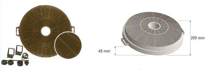filtre charbon rond d 209 037474 adepem. Black Bedroom Furniture Sets. Home Design Ideas
