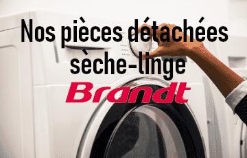 Nos pièces et courroies sèche-linge Brandt