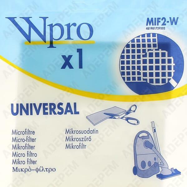 Filtre aspirateur 202x255 a decouper + APPAREIL