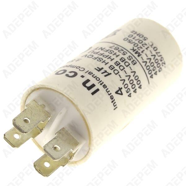 Condensateur 4µf 400v + APPAREIL