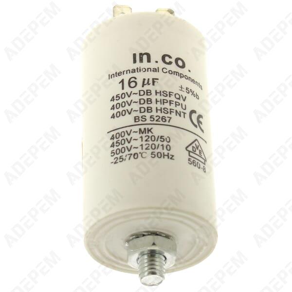 Condensateur 16µf 400v + APPAREIL