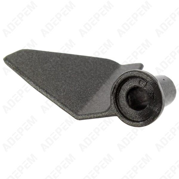Petrisseur axe 1 meplat d=8mm - 3