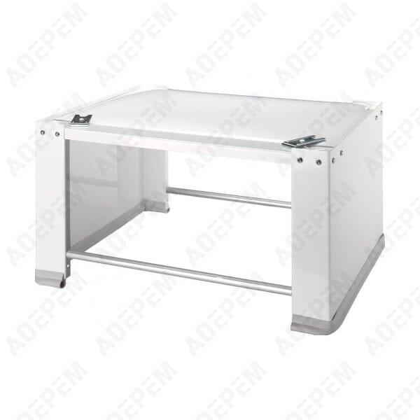 socle rehaussse lave linge seche linge 066437 adepem. Black Bedroom Furniture Sets. Home Design Ideas