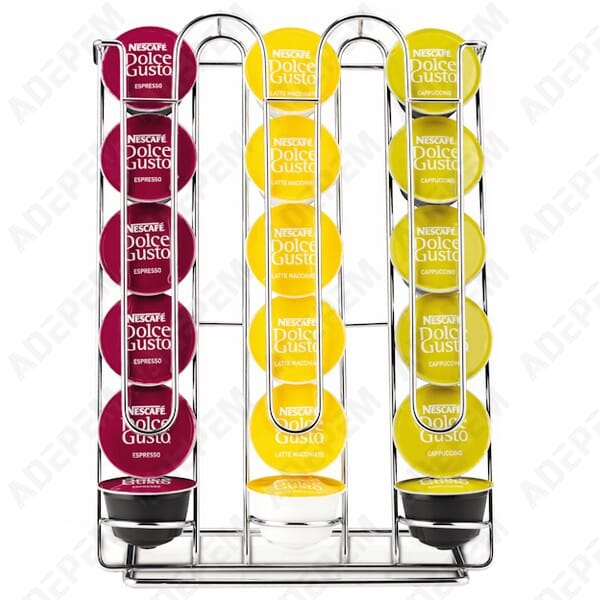 Porte capsules dolce gusto krups pour expresso cafetiere - Porte capsules dolce gusto ...