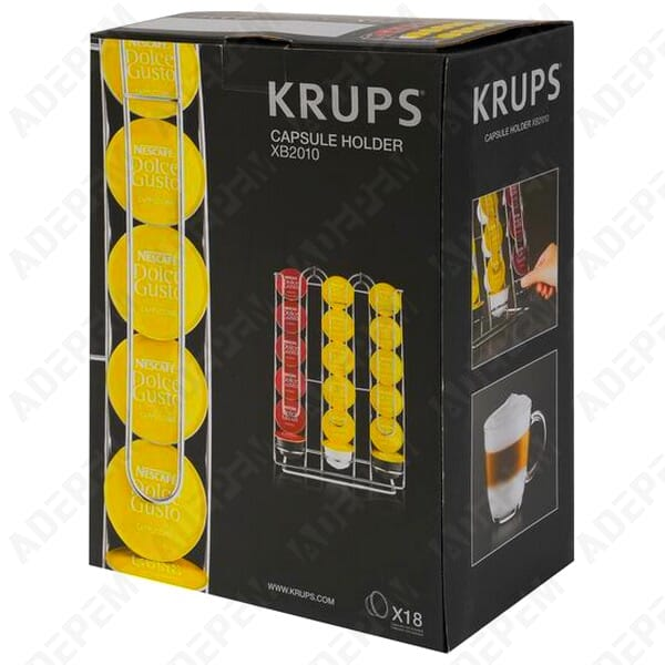 Porte capsules dolce gusto krups pour expresso cafetiere - Porte capsule dolce gusto mural ...