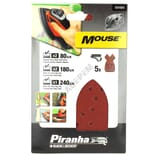 Abrasifs mouse assortis par 5