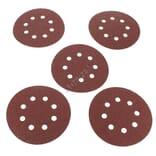 Abrasifs ronds d=125 40g par 5