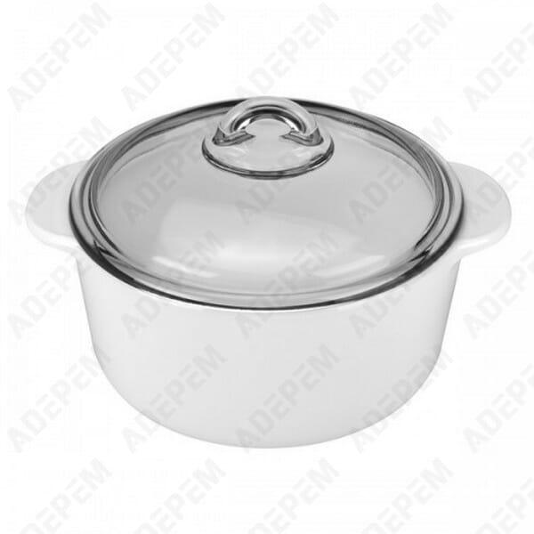 Cocotte pyrex pyroflam 2 litres + APPAREIL