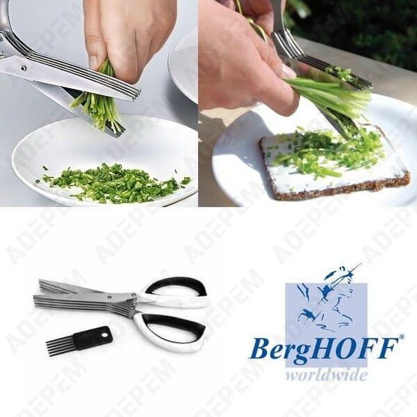 Ciseaux a herbes multi lames berghoff + APPAREIL