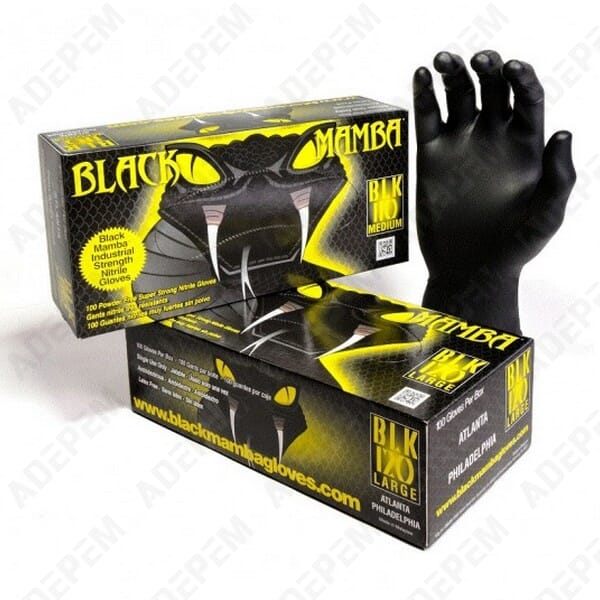 Gants black mamba xl (t9/10) par 100 - 2