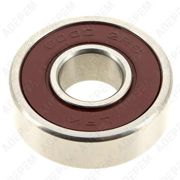 Roulement 6000 2rs 10x25x8mm