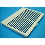 Grille inferieure blanche