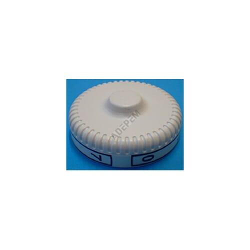 Bouton thermostat blanc 0 a 7 + APPAREIL