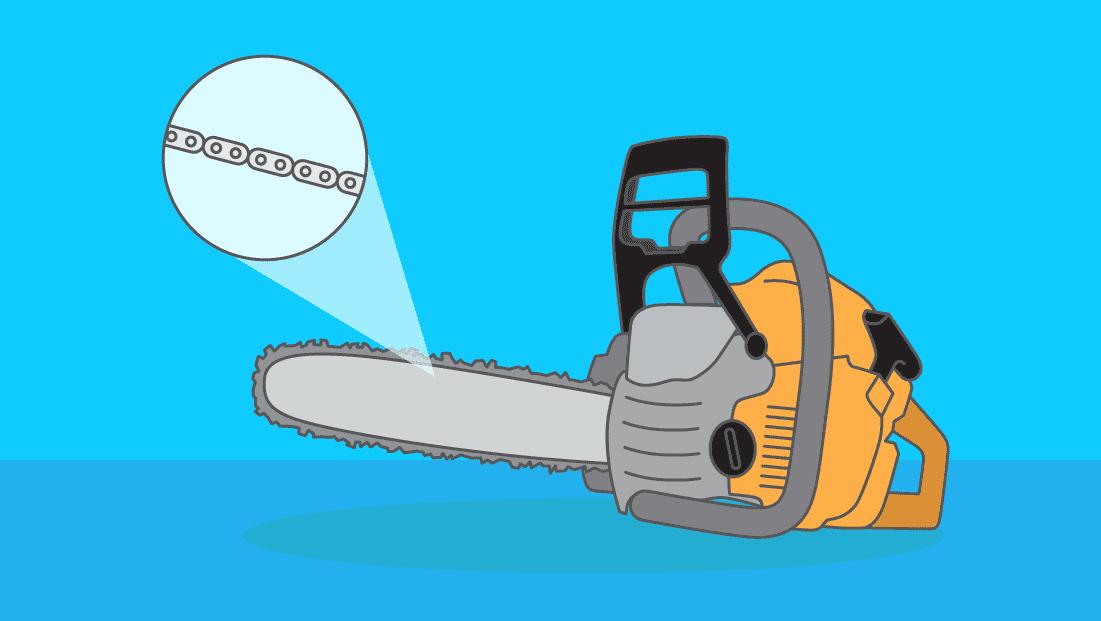 Comment changer la chaîne d'une tronçonneuse ?