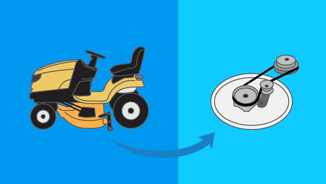 Comment changer une courroie de tondeuse autotractée ou tracteur tondeuse ?
