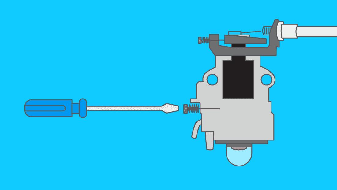 Comment faire le réglage d'un carburateur de débroussailleuse ?