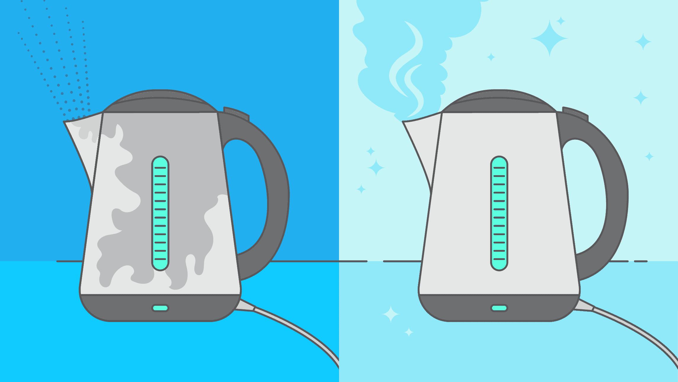 Comment nettoyer et détartrer une bouilloire ?