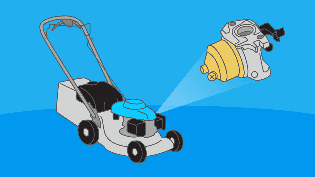 Comment nettoyer et régler un carburateur de tondeuse à gazon ?