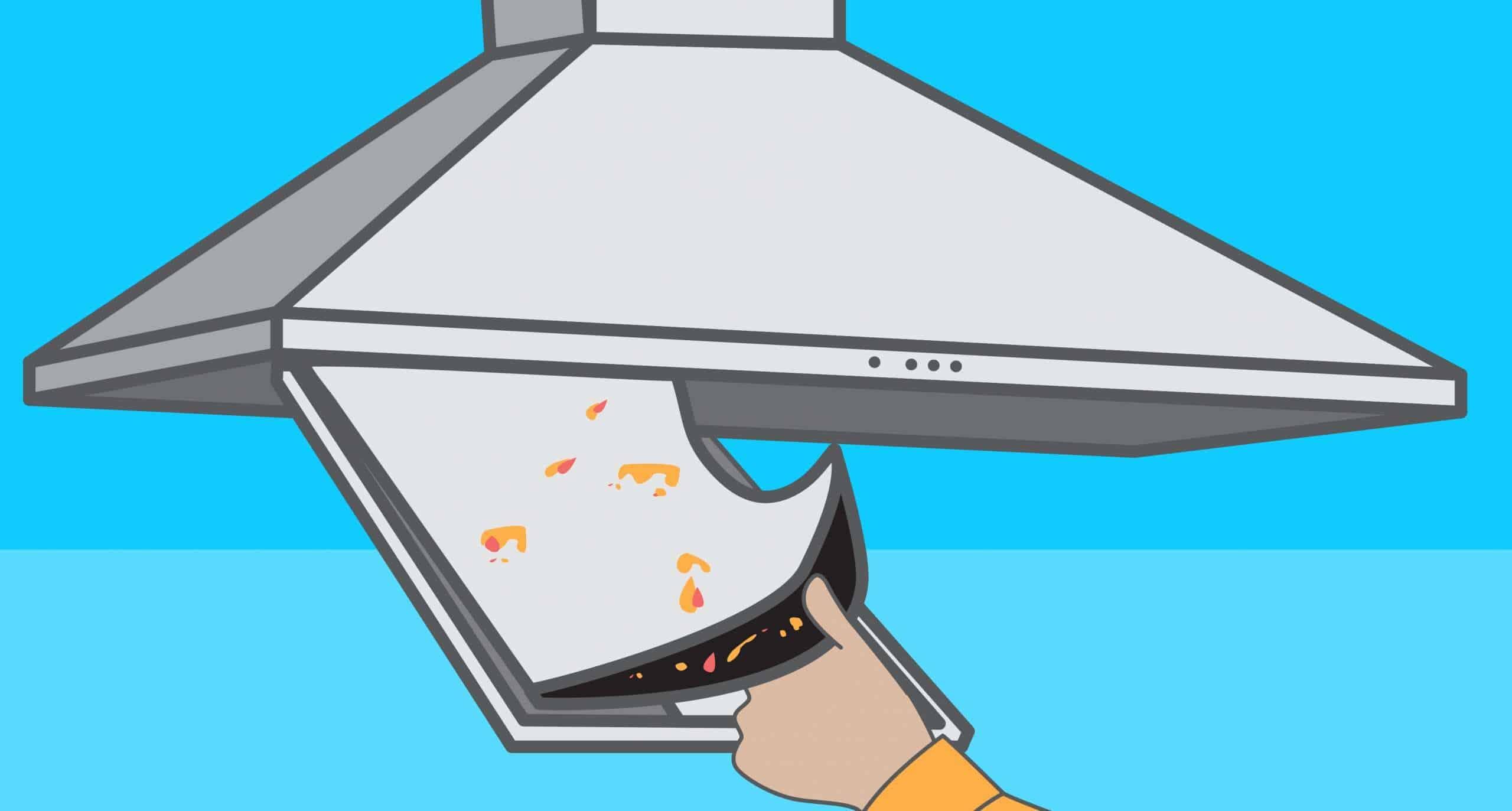 Comment nettoyer ou remplacer un filtre de hotte de cuisine ?