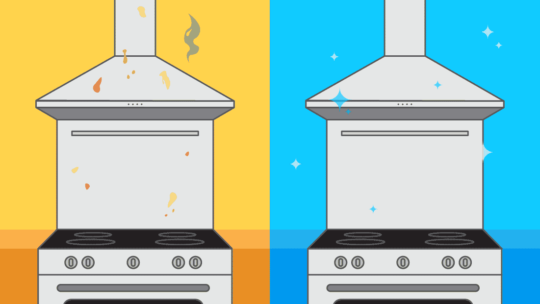 Comment nettoyer une hotte de cuisine en inox ?
