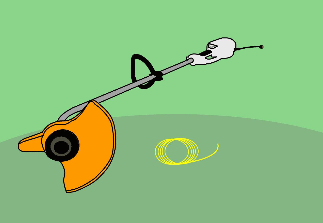 Comment remettre du fil dans une débroussailleuse ou un coupe-bordures ?