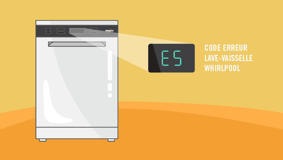 Panne de lave-vaisselle Whirlpool : que signifient les codes erreurs ?