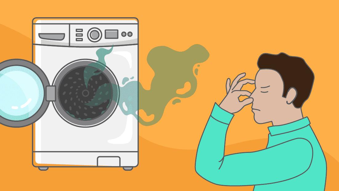 Pourquoi mon lave-linge dégage une mauvaise odeur et comment l'enlever ?