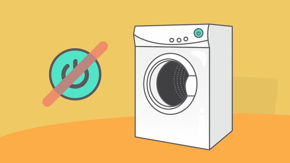 Comment réparer mon sèche-linge qui ne s'allume plus ?