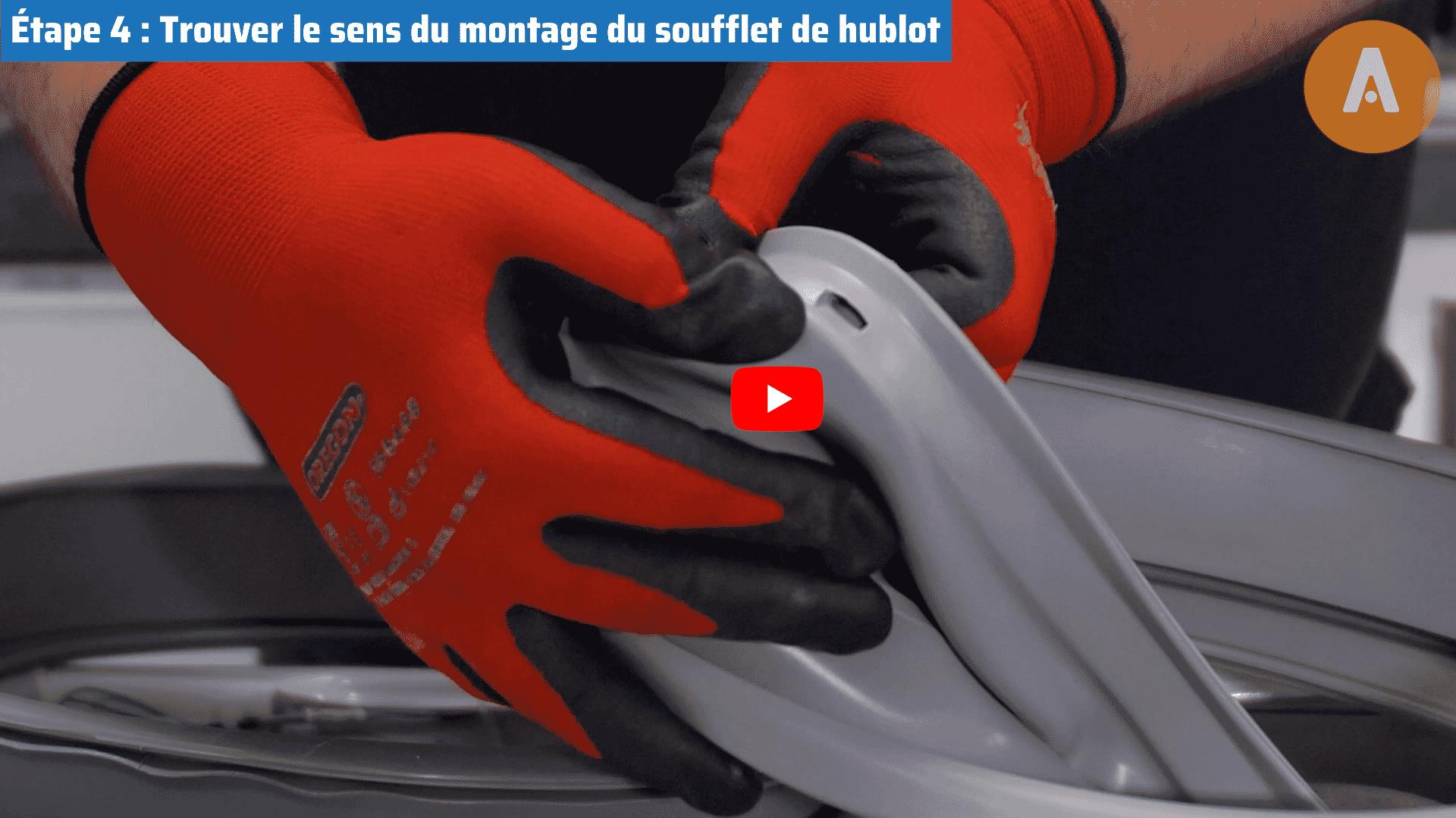 Tutoriel vidéo : comment changer le joint de porte de ma machine à laver ?
